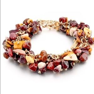 🍁🍂Fall Crystal Stone Bracelet🍂🍁